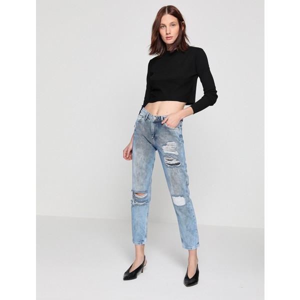 c32059062798d Koton Kadın Pantolon - 25 - İndigo Fiyatları, Özellikleri ve ...