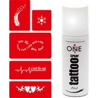 One Spray Tatoo Dövme Seti 1