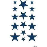 Hane14 Yıldızlar Geçici Dövme HC-21