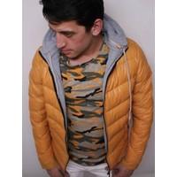 Oksit Fashion Şişme Mont Sarı