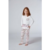 Roly Poly 6960 - İnterlok Kız Garson Pijama