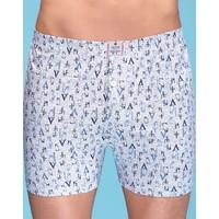 Elif Çamaşır 6'Lı Paket %100 Pamuk Sedef Erkek Boxer