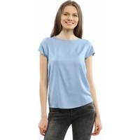 Collezione Kadın Bluz Kısa Kol Sunela Açık Mavi