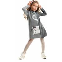 Mushi Yandan Kedi Elbise