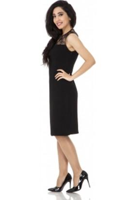 Soral Kadın Bayan Dantelli Abiye Elbise