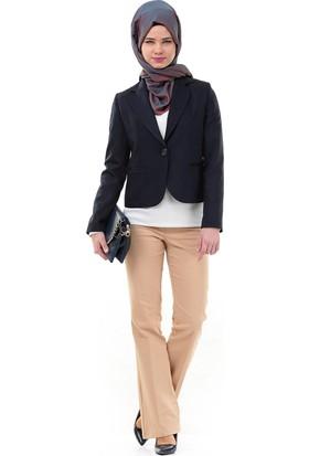 Soral Kadın Bayan Tek Düğme Ceket