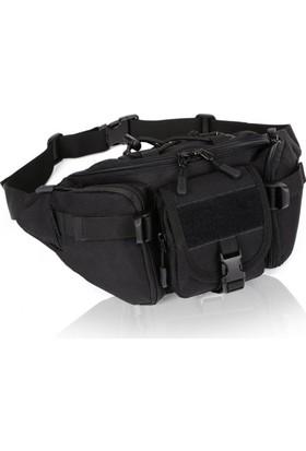 Protector Plus Gündelik Bel Çantası Siyah
