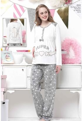 Aqua 17171 3'Lü Bayan Pijama Takımı