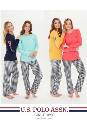 U.S. Polo Assn. 15696 Bayan Patlı Pijama Takımı