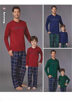 Roly Poly 2923 Erkek Çocuk Pijama Takımı