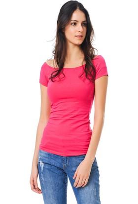 Tiffany&Tomato A3313 Düz Basic T-Shirt Kısa Kol