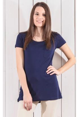 Tiffany&Tomato A4009 Düz N Basic T-Shirt