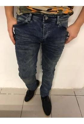Oksit Denim Fit K.5004 Slim Fit Likralı Jeans Kirli Yıkama