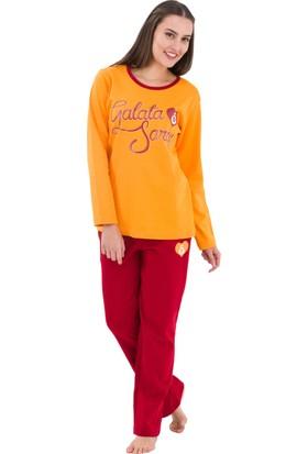 Roly Poly 4989 - Galatasaray Lisanslı Kadın Pijama