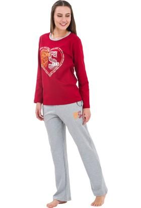 Roly Poly 4990 - Galatasaray Lisanslı Kadın Pijama