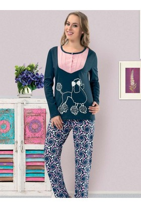 Derya Kurşun 814 Pijama Takım