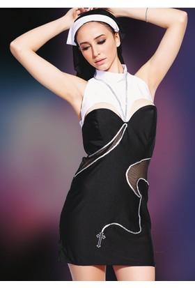 Missvera 9101 Fantazi Rahibe Kostüm