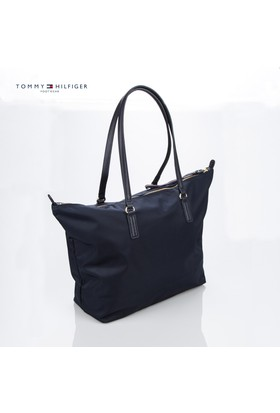 Tommy Hilfiger Çanta Aw0aw00870 Tommy Hilfiger Poppy Solid Tote M