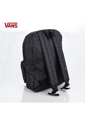 Vans Çanta Voniba5 Vans Old Skool İi Backpack Black Charcoal