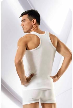 Elif Çamaşır Namaldi Ribana Spor Erkek Atlet Beyaz