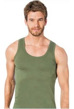 Elif Çamaşır Seher 3'Lü Paket Klasik Erkek Atlet Haki