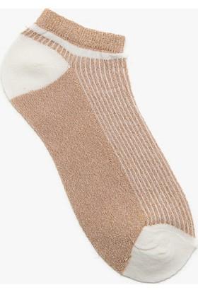 Koton Kadın Çorap Hardal