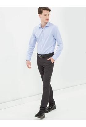 Koton Erkek Normal Bel Pantolon Antrasit