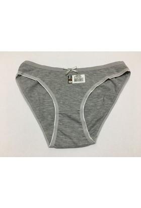 Elif Çamaşır 12'Li Paket Düşük Bel İz Yapmaz Kadın Bikini Külot