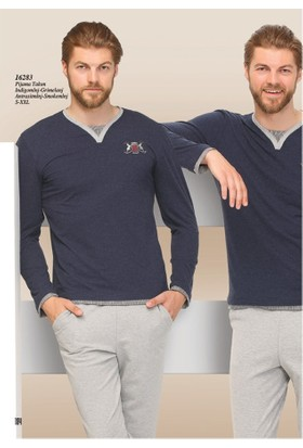 Aqua Erkek Pijama Takım 16283 - İndigo