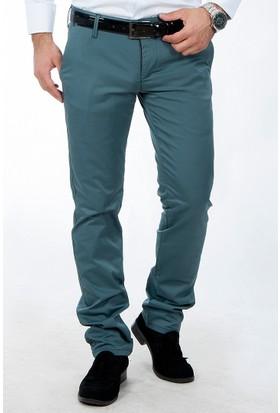 Deepsea Yeşil Battal Boy Arka Cep Armalı Erkek Pantolon 1502147-009