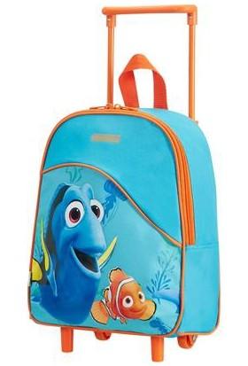 American Tourister Dory-Nemo Fantastic Çekçekli Okul Çantası Mavi 6170