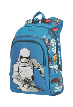 American Tourister New Wonder- M Okul Sırt Çantası Star Wars Mavi 4892