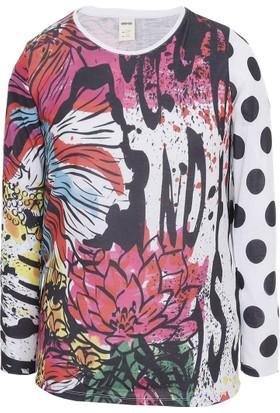 Soobe Posh Punk Girlz Uzun Kol Kız Çocuk T-Shirt Taş