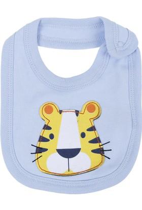 Soobe Little Tiger Erkek Bebek Önlük Açık Mavi