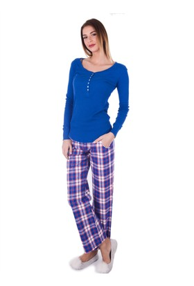 Ayyıldız 59494 Pamuklu Cepli Pijama Takımı