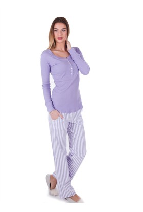 Ayyıldız 59498 Pamuklu Cepli Pijama Takımı
