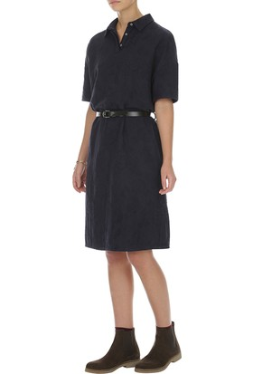 Yargıcı Eteği Volanlı Elbise