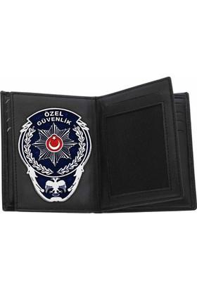 Anı Yüzük Rozetli Özel Güvenlik Cüzdanı