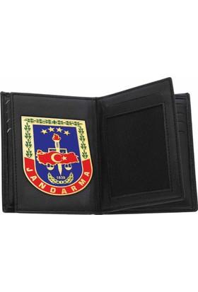 Anı Yüzük Rozetli Jandarma Cüzdanı