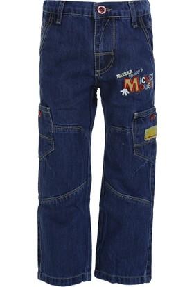Disney Mickey Erkek Çocuk Pantolon Indigo (1-7 Yaş)