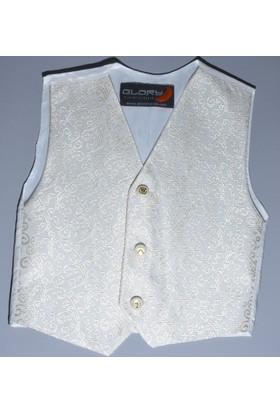 Glory Tekstil Sünnet Yeleği Krem Rengi