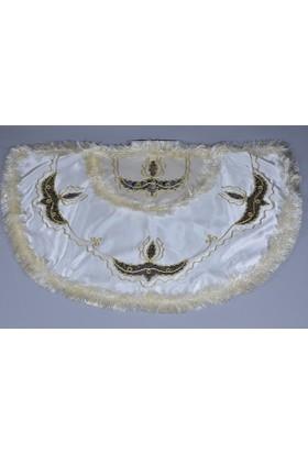 Glory Tekstil Sünnet Pelerini Prens Model Krem Rengi-Lacivert
