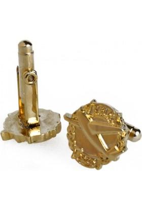 THK Design Gold Kol Düğmesi