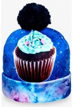Bonalodi Cupcake Ponpon Kadın Bere