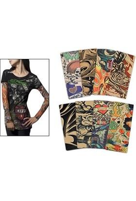 Anka Tattoo Sleeves Giyilebilir Dövmeler
