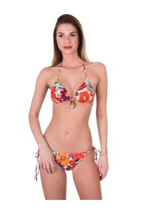 Ayyıldız 24562 Çiçekli Üçgen Kalıp Bikini