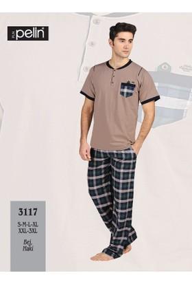 Pelin Ekose Pijama Takım 3117