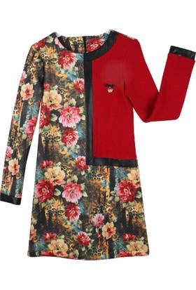 Badi Junior Çiçekli Elbise
