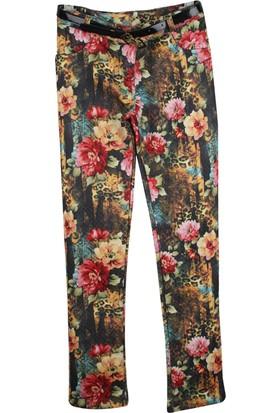 Badi Junior Çiçekli Pantolon