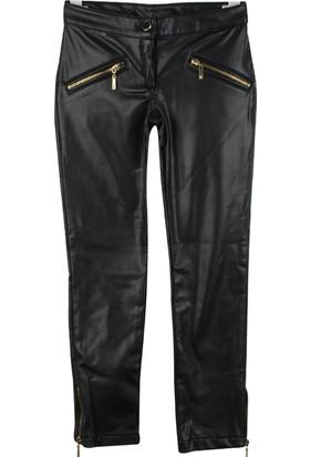 Badi Junior Kız Deri Pantolon